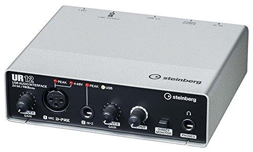 Steinberg スタインバーグ USB2.0 24bit/192kHz オーディオインターフェース UR12
