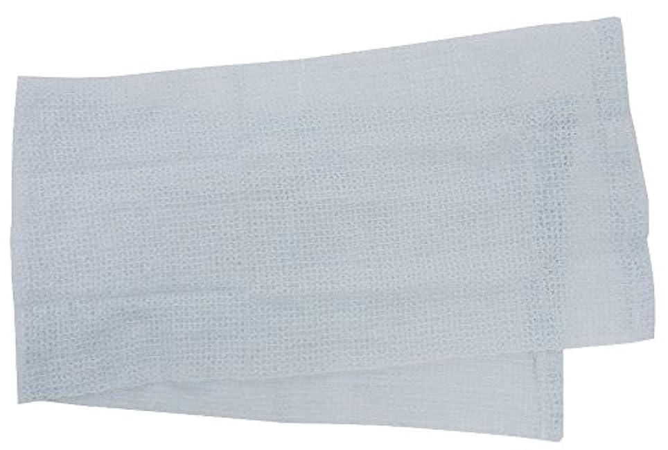 魅惑的な生物学新年小久保 『メレンゲのような泡立ちとソフトな肌ざわり』 モコモコボディタオル ブルー 24×100cm 2278