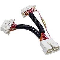 【シードスタイル】OBD2 ACC/常時電源切換 分岐ハーネス 16ピン+16ピンタイプ 複数のOBD2接続が可能に! メンテナンス用に。
