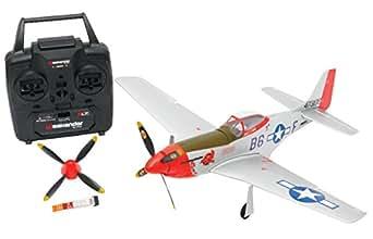 ハイテック ウィークエンダー 2.4GHz 4ch 3Gミニプレーン P51 3G RTFキット ME101615 RC飛行機