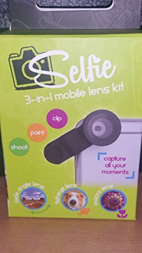 Selfie 3-in-1 mobile lens kit by Hyde