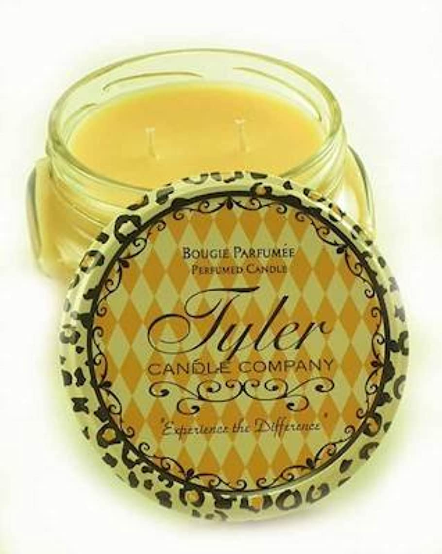 かもしれない溶ける実り多い1 xホームカミングTyler 11 oz Medium香りつきJar Candle