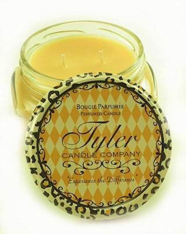 1 xホームカミングTyler 11 oz Medium香りつきJar Candle