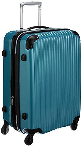 [シフレ] siffler 拡張スーツケース エスケープ 55cm 58-68L 4.0kg 中型サイズ TSAロック ESC2007-55 メタリックグリーン (メタリックグリーン)
