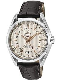 [オメガ]OMEGA 腕時計 シーマスターアクアテラ シルバー文字盤 コーアクシャル自動巻 GMT機能 231.13.43.22.02.004 メンズ 【並行輸入品】