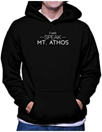 I only speak Mt Athos フーディー