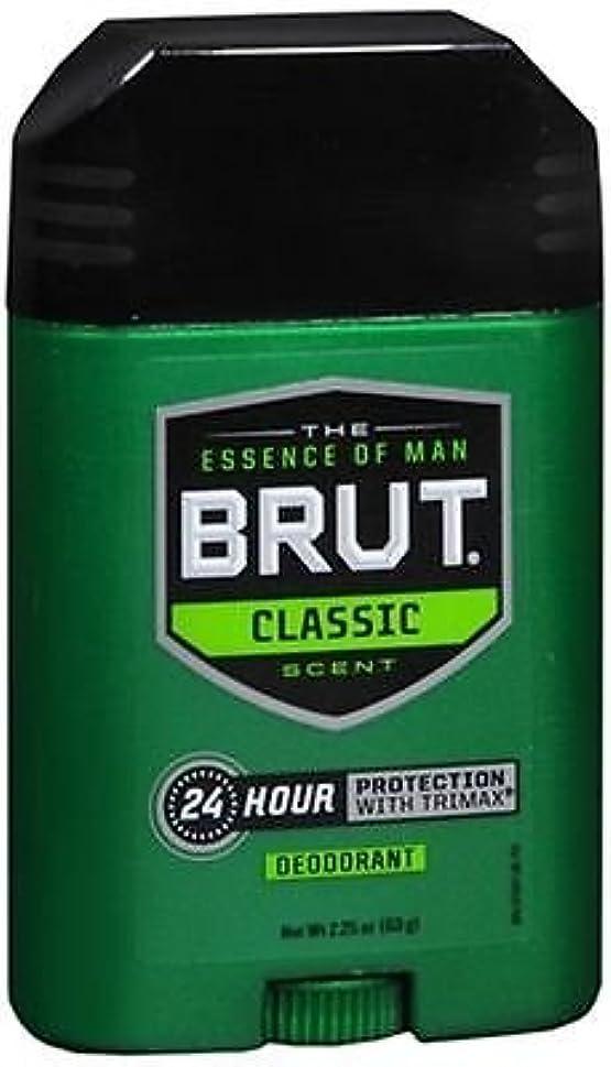 和不屈構造BRUT Classic scent Deodorant 2.25oz(63g)-国内出荷配送、並行輸入品