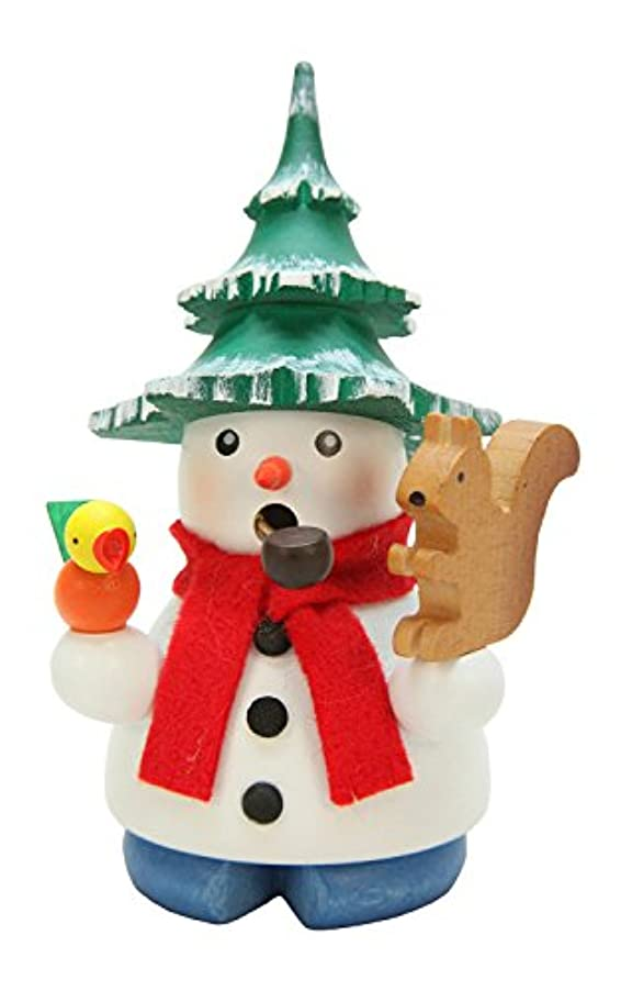 入植者シンプルな失速Alexander Taron Christian Ulbricht装飾雪だるまとツリーハットIncense Burner