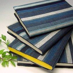 オルキデア ブックカバー 松阪木綿 藍染 ポケミスサイズ EDO-001 国産 BK-E-1-a-P