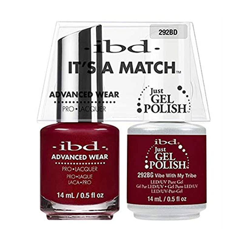 対応する愛国的な追跡ibd - It's A Match - Duo Pack - Serengeti Soul Collection - Vibe With My Tribe - 14ml / 0.5oz each
