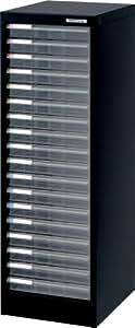 ナカバヤシ 書類収納 アバンテV2 フロアケース A4浅18段 AF-18 クロ
