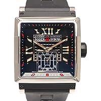 ロジェ・デュブイ キングスクエア 世界限定888本 RDDBKS0030 ブラック メンズ 腕時計 [並行輸入品]