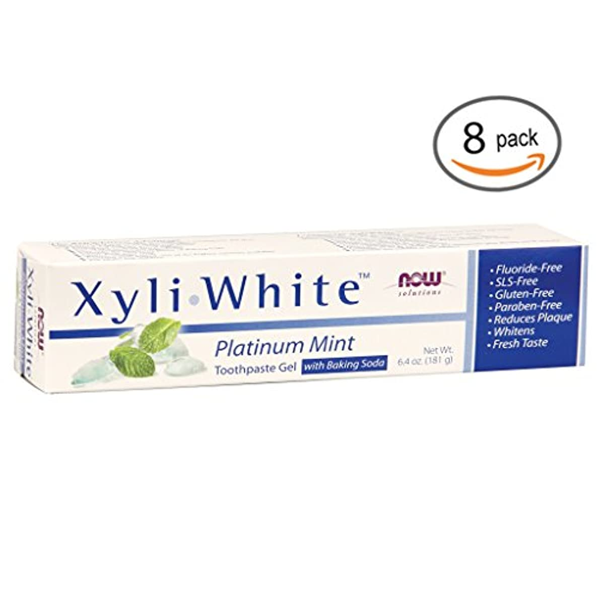 みなさんロマンチック商業のキシリホワイト 歯磨き粉  プラチナミント+ベーキングソーダ 182g 2個パック