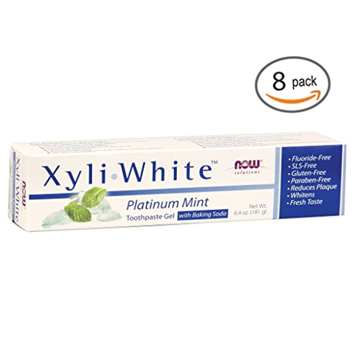 診療所に根絶するキシリホワイト 歯磨き粉  プラチナミント+ベーキングソーダ 182g 2個パック