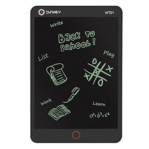 [해외]LCD 전자 수첩 Dinhey LCD Writing Tablet 10.5 인치 드로잉 보드 문구 전자 메모 디지털 페이퍼 저장 전자 라이팅 보드 디지털 쓰기 패드 어린이 선물 종이 메모장 메시지 화이트 보드 메모/LCD electronic notebook Dinhey LCD Writing Tablet 10....