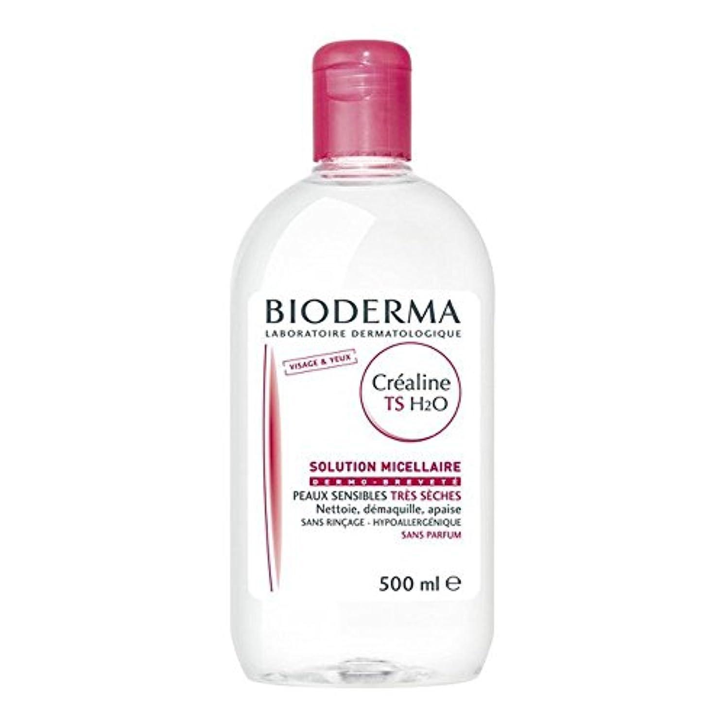 後ろにおんどりアレルギー性ビオデルマ サンシビオ H2O(エイチ ツーオー)【ベリードライ 乾燥肌用 TS】 500ml