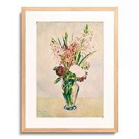 ピエール=オーギュスト・ルノワール Pierre-Auguste Renoir 「Glaieuls」 額装アート作品