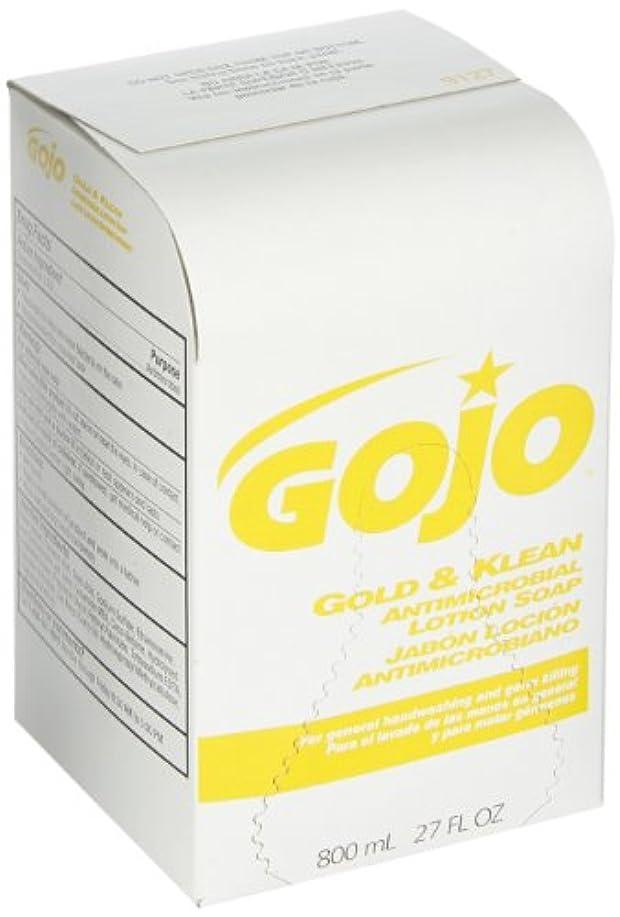 眉葉を拾うあいまいなゴールド& KleanローションSoap bag-in-boxディスペンサー詰め替え、フローラルBalsam、800 ml