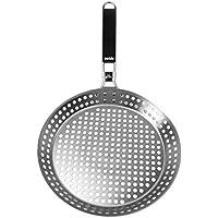 Yorizle バーベキューパンフライパンキッチンクッカーステンレス食器(シルバー) [並行輸入品]