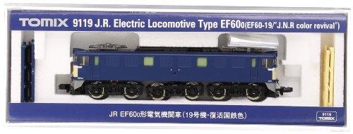 TOMIX Nゲージ 9119 EF60 0形 (19号機・復活国鉄色)
