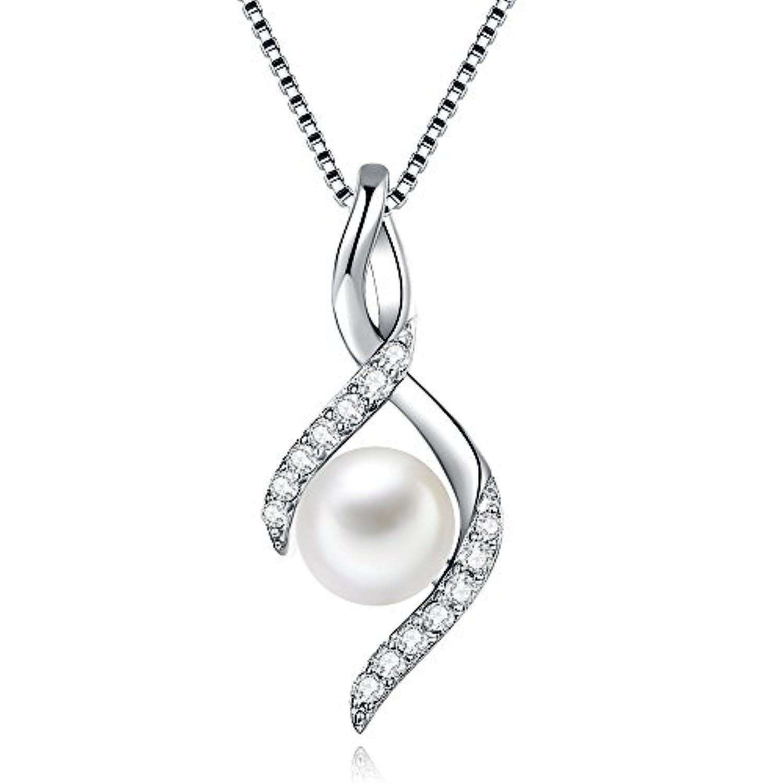 真円 本真珠 パール ネックレス レディース シルバー925 真珠 ネックレス 誕生日 プレゼント 女性(ぜひ動画ご覧ください)