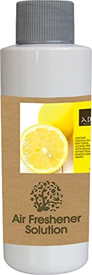 忌まわしい第承認するエアーフレッシュナー 芳香剤 アロマ ソリューション レモン 120ml