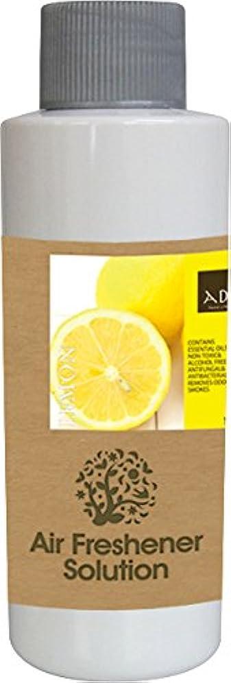 ミシン目でまっすぐエアーフレッシュナー 芳香剤 アロマ ソリューション レモン 120ml