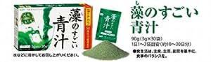 大麦若葉加工食品 藻のすごい青汁 90g (3g×30袋)