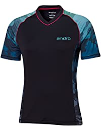 andro(アンドロ) レディース 卓球 ウェア ゲームシャツ アンドロスペンサー 302116