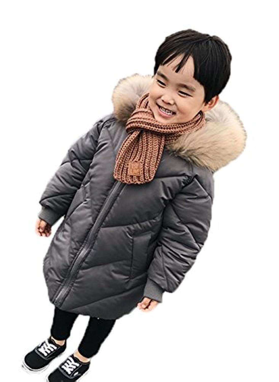 SHUNYI 子供 コート ジャケット ダウンコート 綿服 子供服 キッズ 中綿 暖かい アウター フード付き お出かけ 可愛い 男女兼用 キッズコート