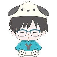 ユーリ!!! on ICE × サンリオ 勇利 ぬいぐるみ Lサイズ 高さ約30cm