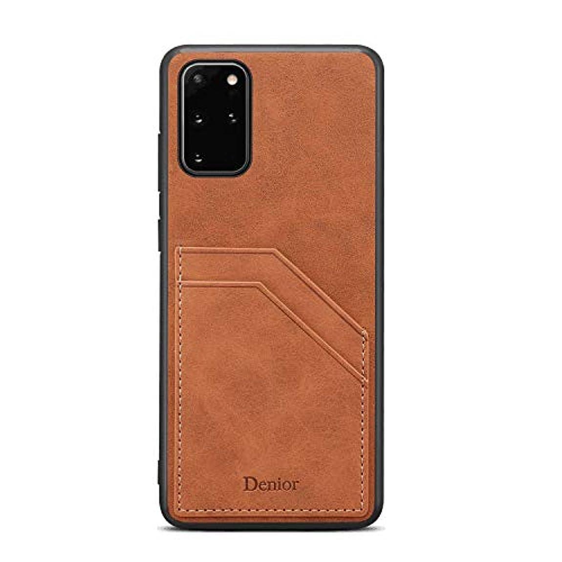水没マイナス淡いPUレザー ケース 手帳型ケース 対応 サムスン ギャラクシー Samsung Galaxy ノート Note 10 plus プラス 本革 カバー収納 手帳型 財布