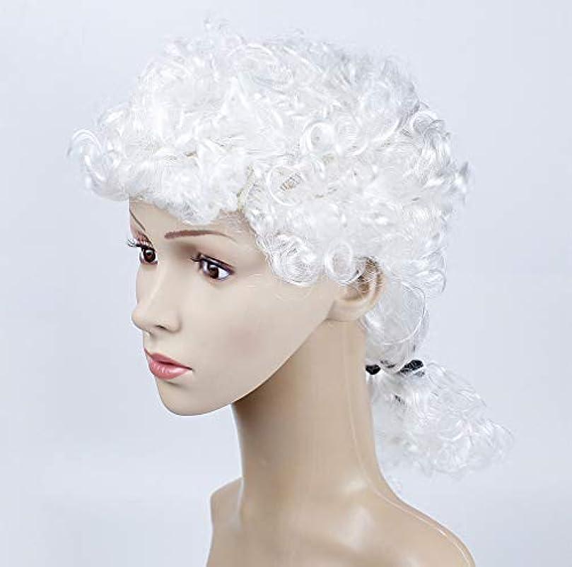 締める輝く歌手女性かつらサーカス漫画鼻マスクパーティー用品コスプレ衣装マジックドレスパーティー用品ハロウィンパーティーホワイト