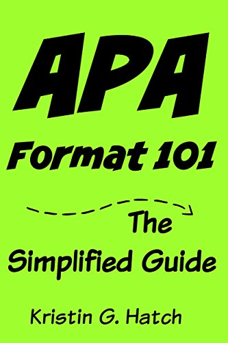 amazon apa format 101 the simplified guide to apa citation for