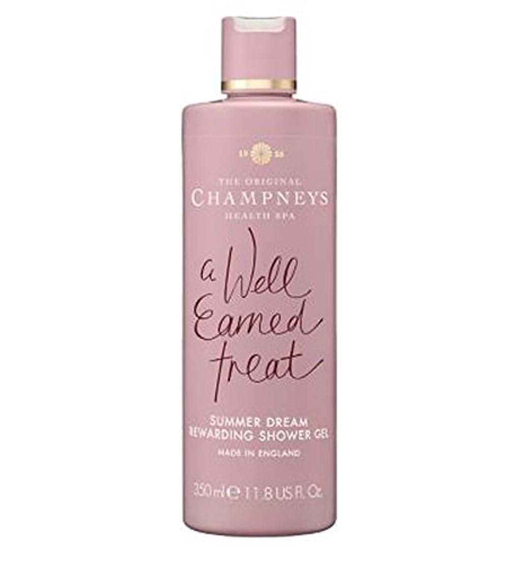 信頼注ぎます準拠チャンプニーズの夏の夢やりがいのシャワージェル350ミリリットル (Champneys) (x2) - Champneys Summer Dream Rewarding Shower Gel 350ml (Pack of...