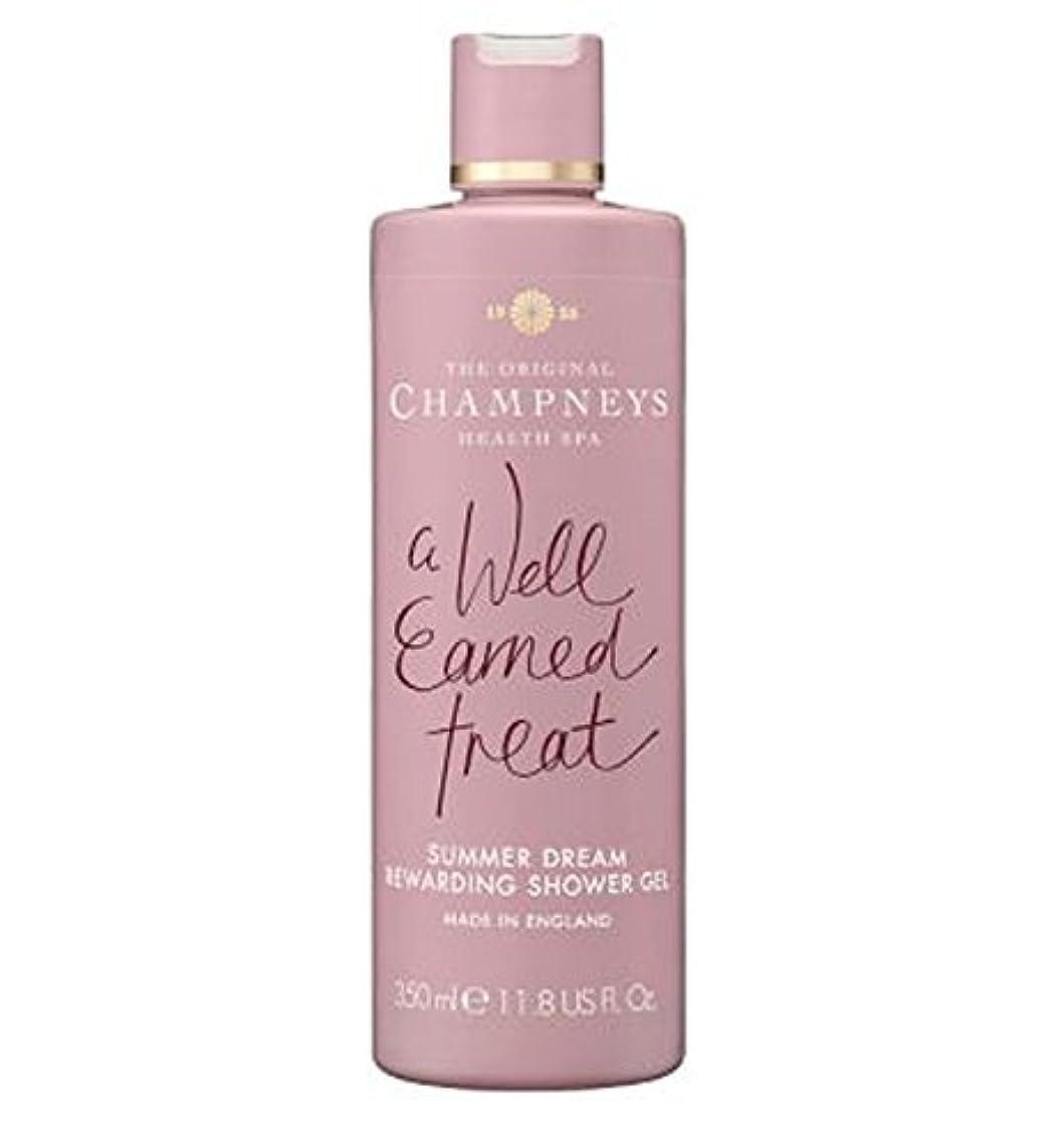 炭水化物接ぎ木列挙するChampneys Summer Dream Rewarding Shower Gel 350ml - チャンプニーズの夏の夢やりがいのシャワージェル350ミリリットル (Champneys) [並行輸入品]
