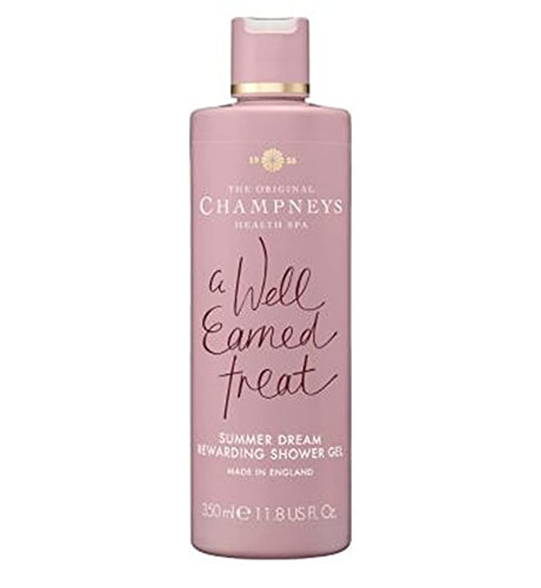 Champneys Summer Dream Rewarding Shower Gel 350ml - チャンプニーズの夏の夢やりがいのシャワージェル350ミリリットル (Champneys) [並行輸入品]