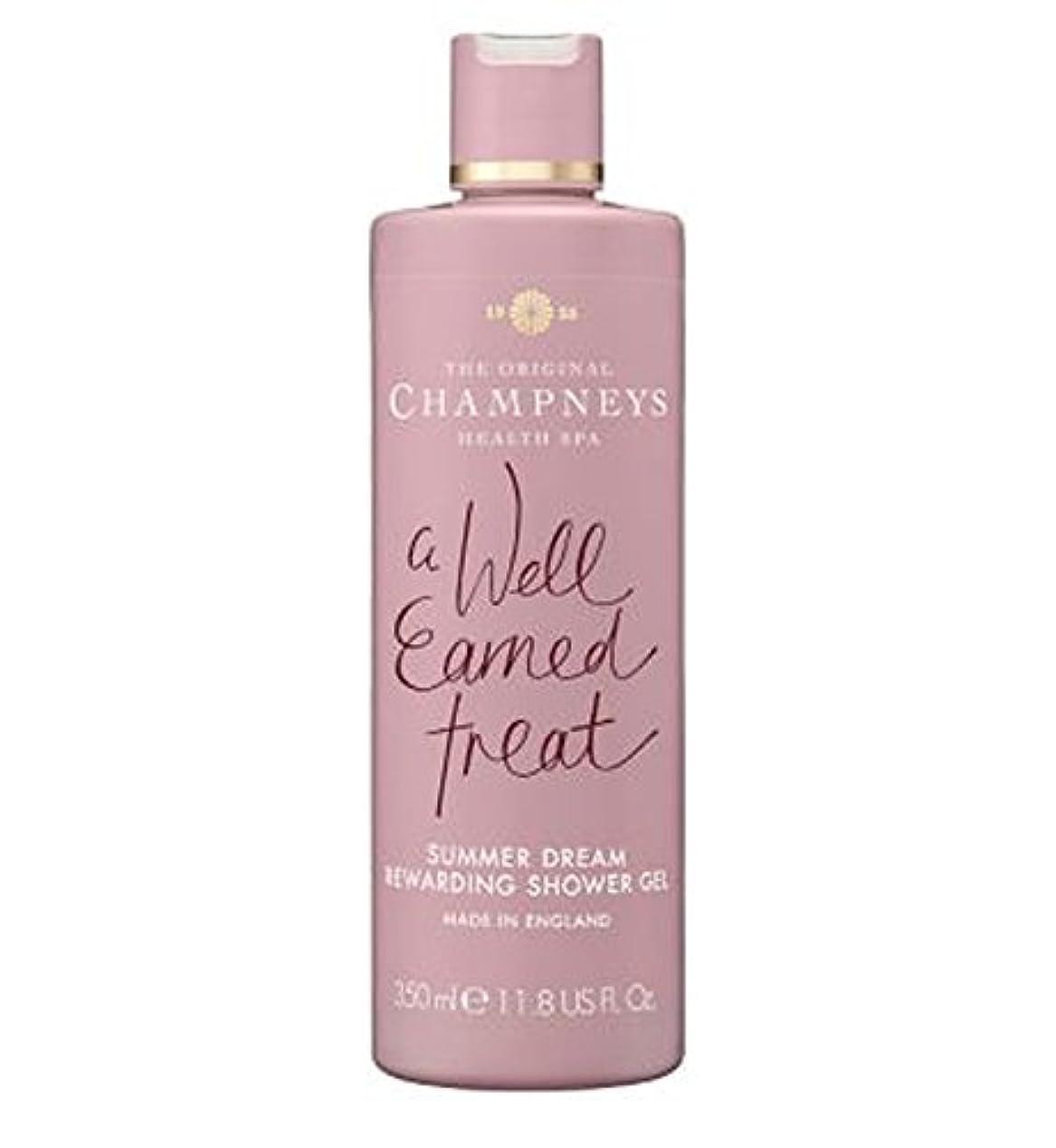知らせる勃起そのチャンプニーズの夏の夢やりがいのシャワージェル350ミリリットル (Champneys) (x2) - Champneys Summer Dream Rewarding Shower Gel 350ml (Pack of...