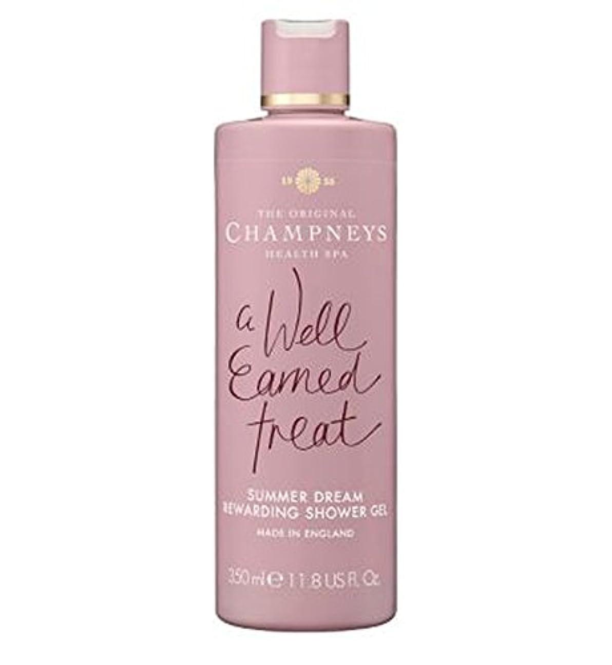 太平洋諸島推進力アジテーションチャンプニーズの夏の夢やりがいのシャワージェル350ミリリットル (Champneys) (x2) - Champneys Summer Dream Rewarding Shower Gel 350ml (Pack of...