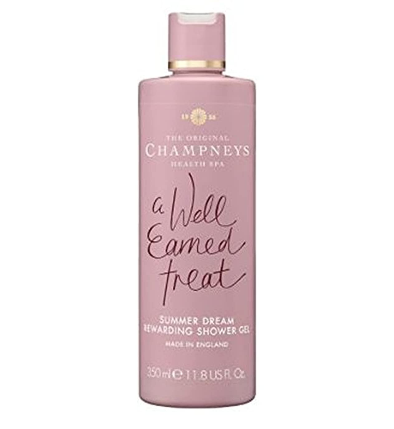 違うコミュニケーション検査官Champneys Summer Dream Rewarding Shower Gel 350ml - チャンプニーズの夏の夢やりがいのシャワージェル350ミリリットル (Champneys) [並行輸入品]