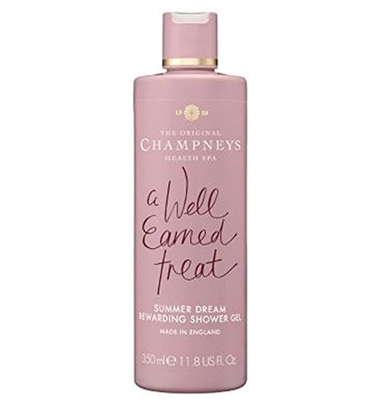 慢性的刺すジレンマChampneys Summer Dream Rewarding Shower Gel 350ml - チャンプニーズの夏の夢やりがいのシャワージェル350ミリリットル (Champneys) [並行輸入品]