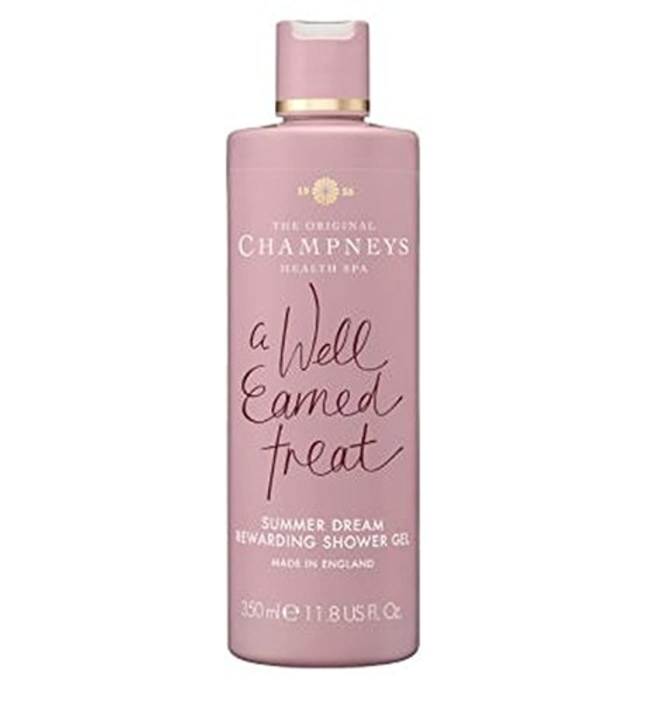 消化ベール目の前のチャンプニーズの夏の夢やりがいのシャワージェル350ミリリットル (Champneys) (x2) - Champneys Summer Dream Rewarding Shower Gel 350ml (Pack of...