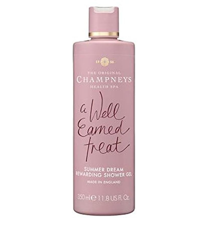 冒険家抽象化結果チャンプニーズの夏の夢やりがいのシャワージェル350ミリリットル (Champneys) (x2) - Champneys Summer Dream Rewarding Shower Gel 350ml (Pack of...