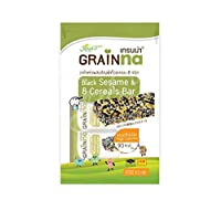 シリアルバー Grainna Black sesame & 8 Whole Grain Cereals Bar 50g x 3packs