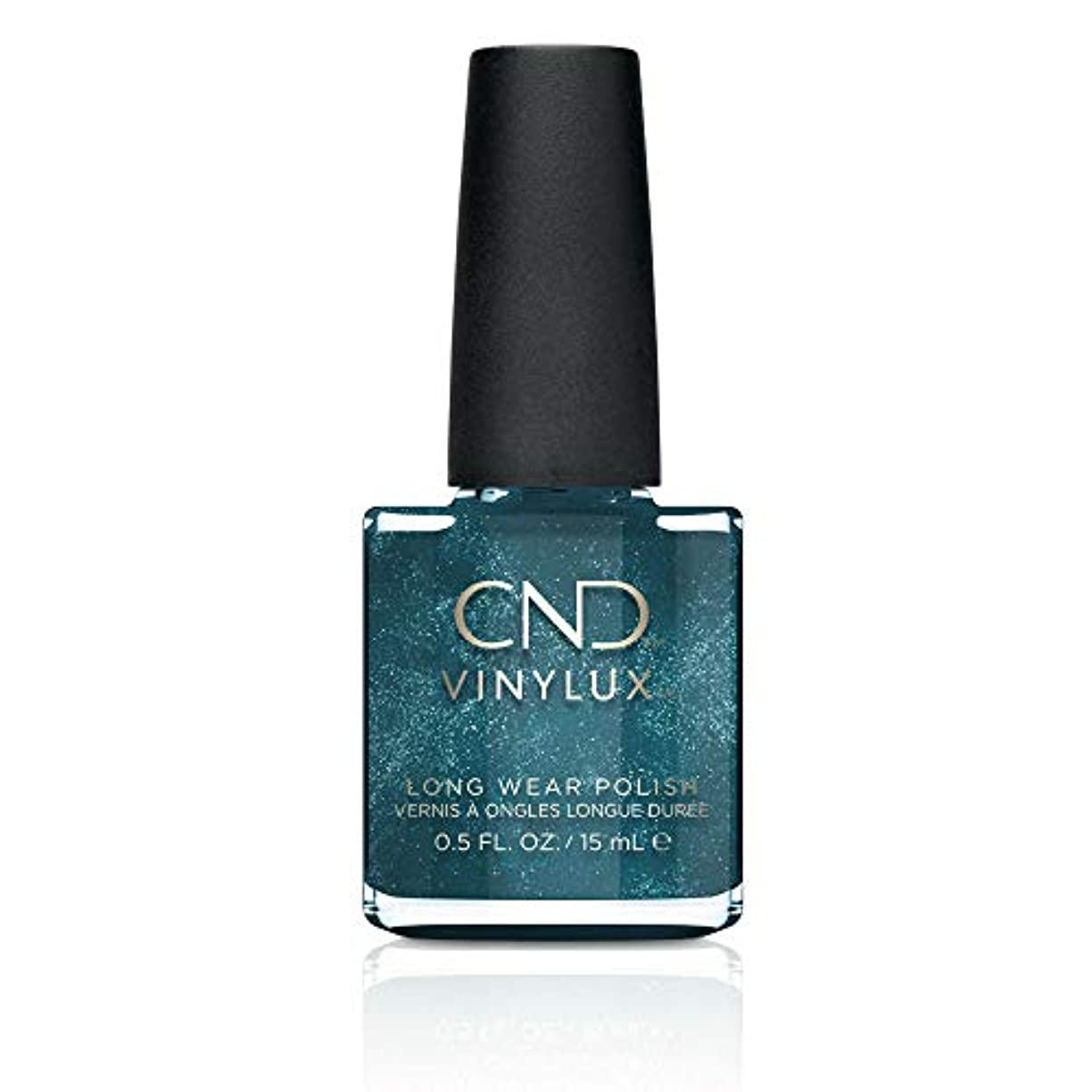 に慣れ繊毛前提条件CND Vinylux Nail Polish - Fern Flannel - 0.5oz / 15ml