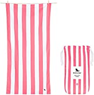 Lightweight Beach Towel for Travel - Kuta Pink, Large (160x80cm, 63x31) - Fast Dry Towel for Swim, Camping Tow