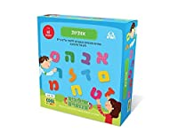 Hebrew Letter Magnets - Toy and Game for Kids