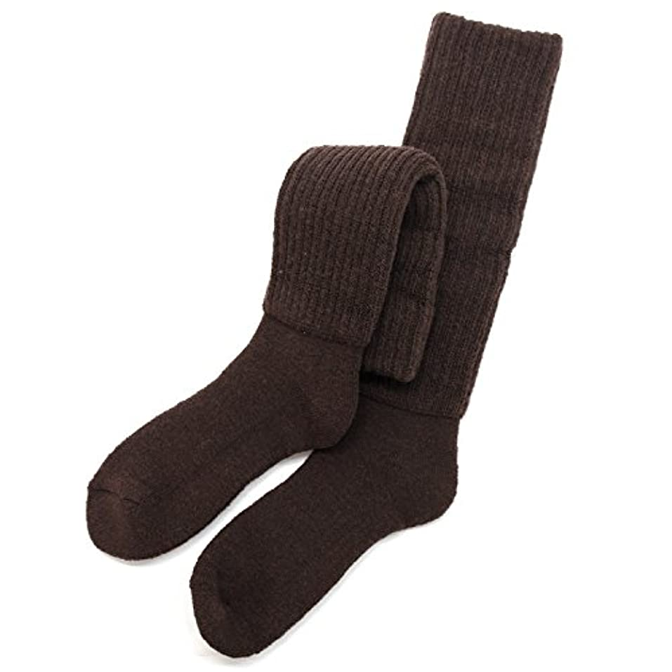 発言するゼロ正当化するhiorie(ヒオリエ) 日本製 冷えとり靴下 あったか 2重編み靴下 ハイソックス