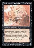 英語版 ザ・ダーク The Dark DRK Frankenstein's Monster マジック・ザ・ギャザリング mtg