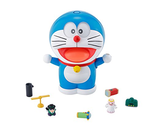 Best-Selling Doraemon in Japan super alloy spinning doraemon approximately 125 mm abs & tie cast & pvc made painted movable figure